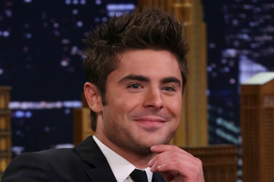 Zac Efron Casually Rode A Shark In His New Movie