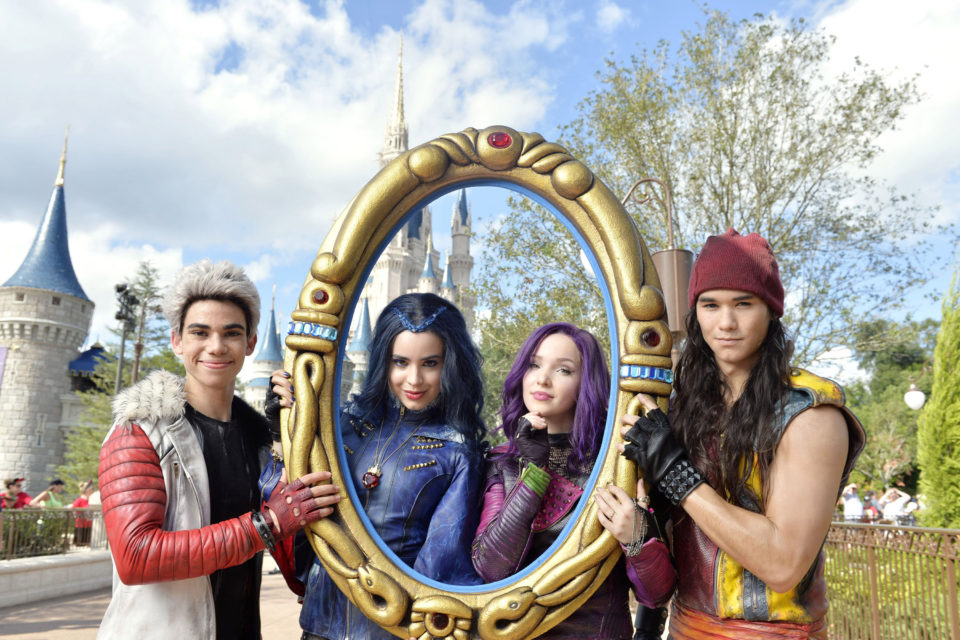 Sofia Carson And Cameron Boyce Take On The Mannequin Challenge At Disney World