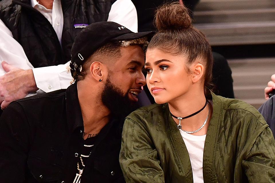 Zendaya Sparks Dating Rumors With Odell Beckham Jr ...