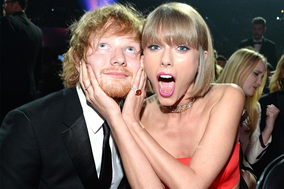 Ed Sheeran Joins Taylor Swift Onstage At Jingle Ball