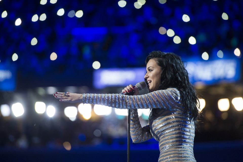 Katy Perry Drops 'Chained to the Rhythm'