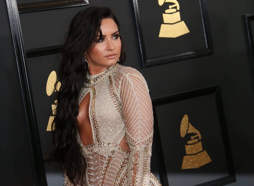 Demi Lovato Reveals the Inspiration Behind Her Grammys Dress