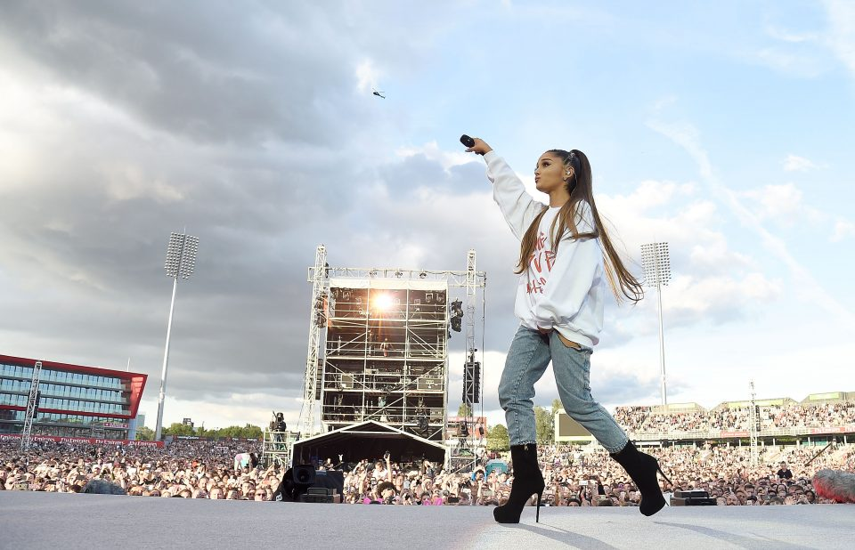 Ariana Grande Posts Heartfelt Tribute On Anniversary Of Her Manchester Concert