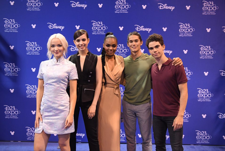 The 'Descendants 3' Cast Share Behind-the-Scenes Rehearsal Pics