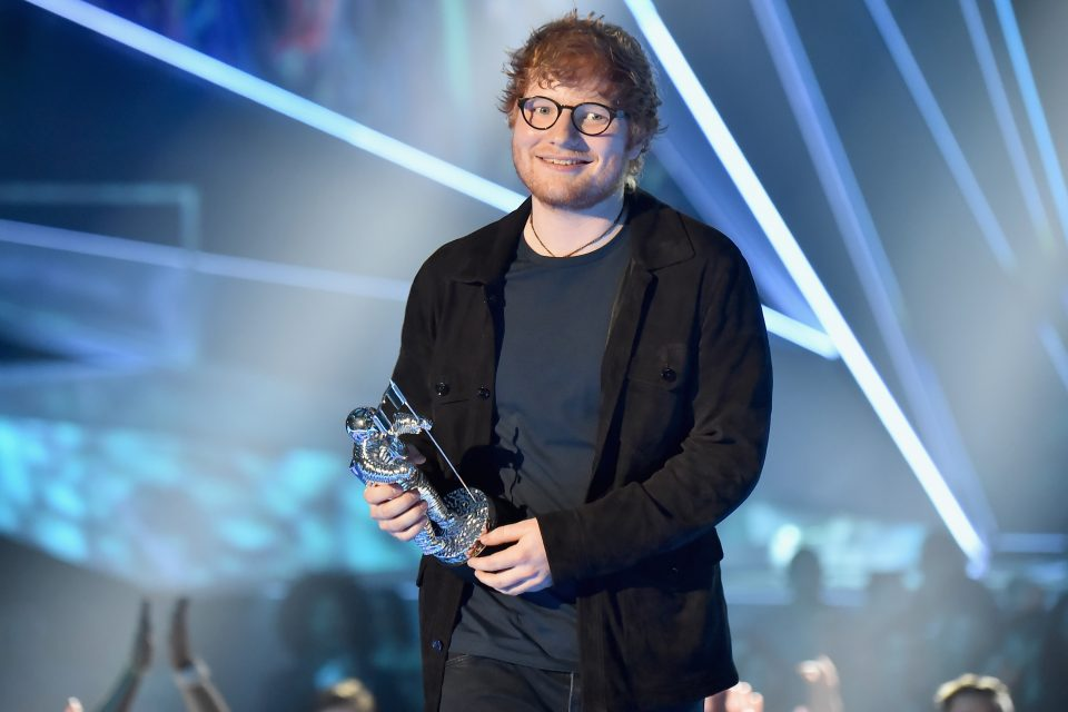 This is How Ed Sheeran Celebrated Being Spotify's Most-StreamedArtist of 2017