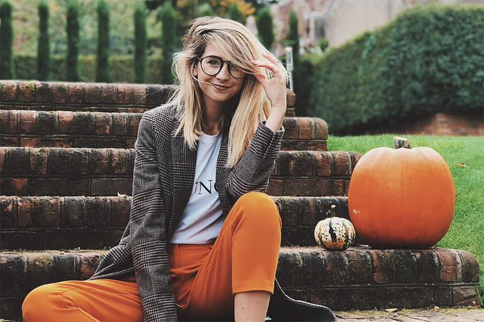 View Pumpkin Patch Outfit Inspo Background