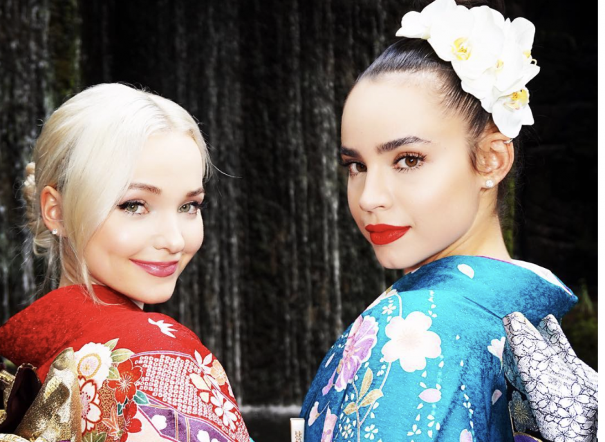 Sofia Carson and Dove Cameron Meet Their Disney Princess Role Models