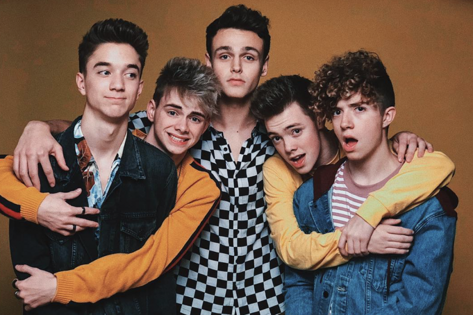 Why Don't We Reacts to a Fan Mashup Cover of 'Something Different' and 'These Girls'