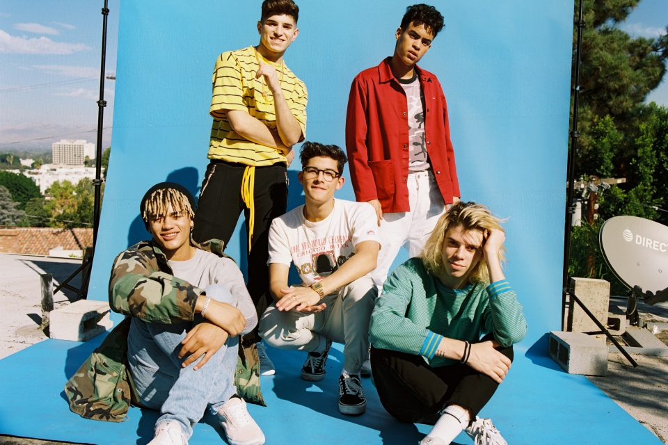 PRETTYMUCH React to a Fan Cover of 'Open Arms'