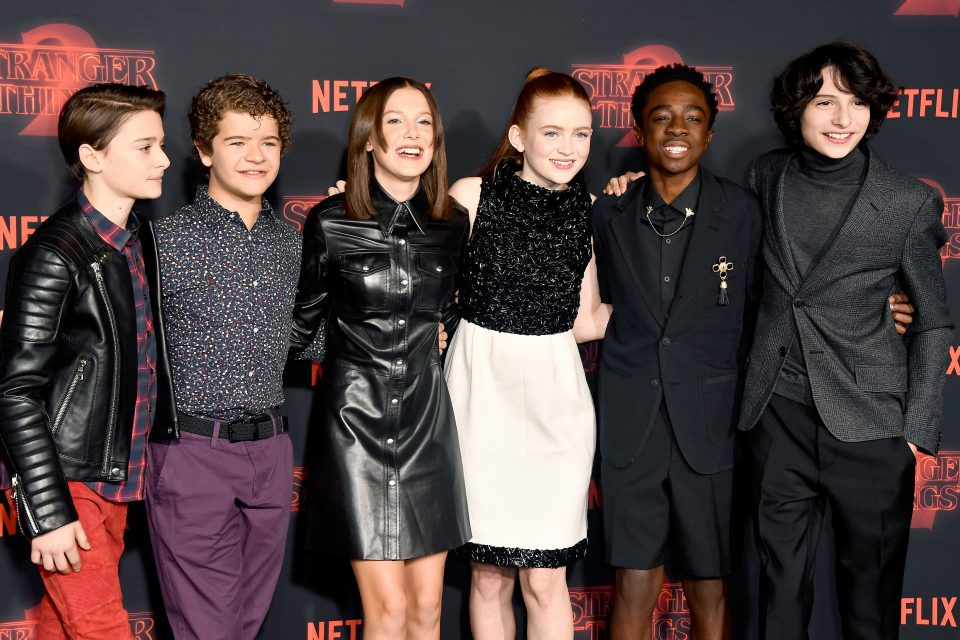 The Kids of 'Stranger Things' Slay the SAG Awards Red Carpet