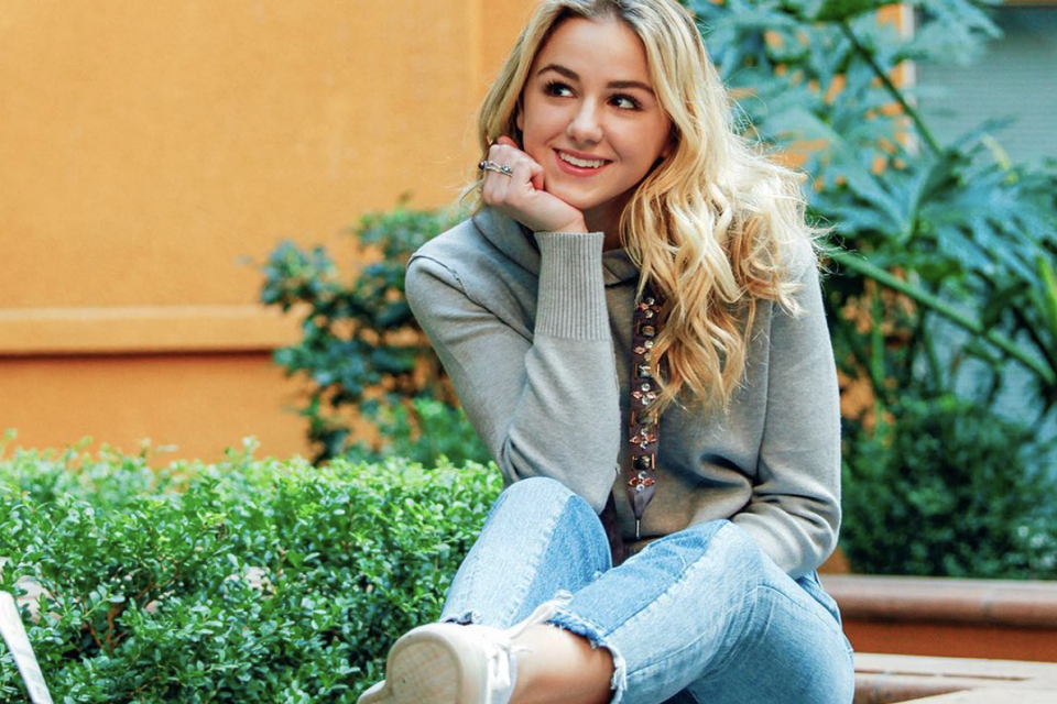 Chloe Lukasiak Breaks Down Her Go-To Makeup Look For A Girl's Night Out
