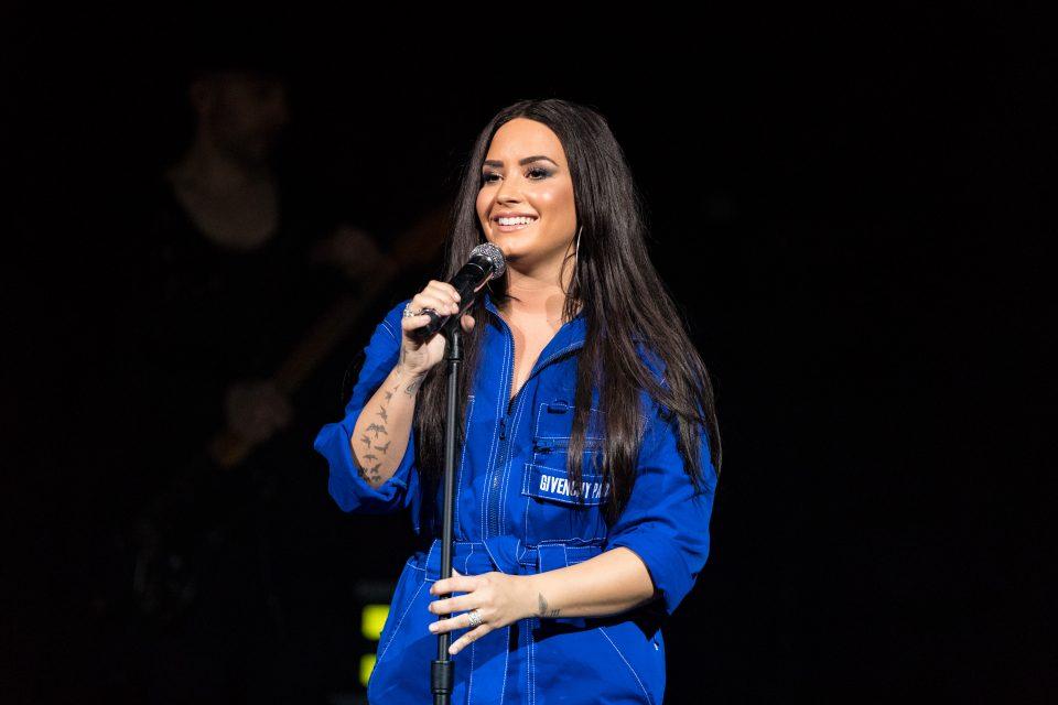Demi Lovato Drops 'Don't Go Breakin' My Heart' Remix