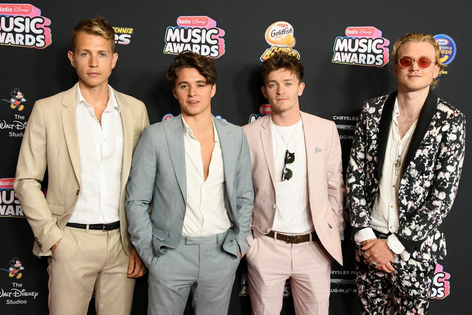 The Vamps Announce 'Four Corners' Tour with HRVY and New Hope Club