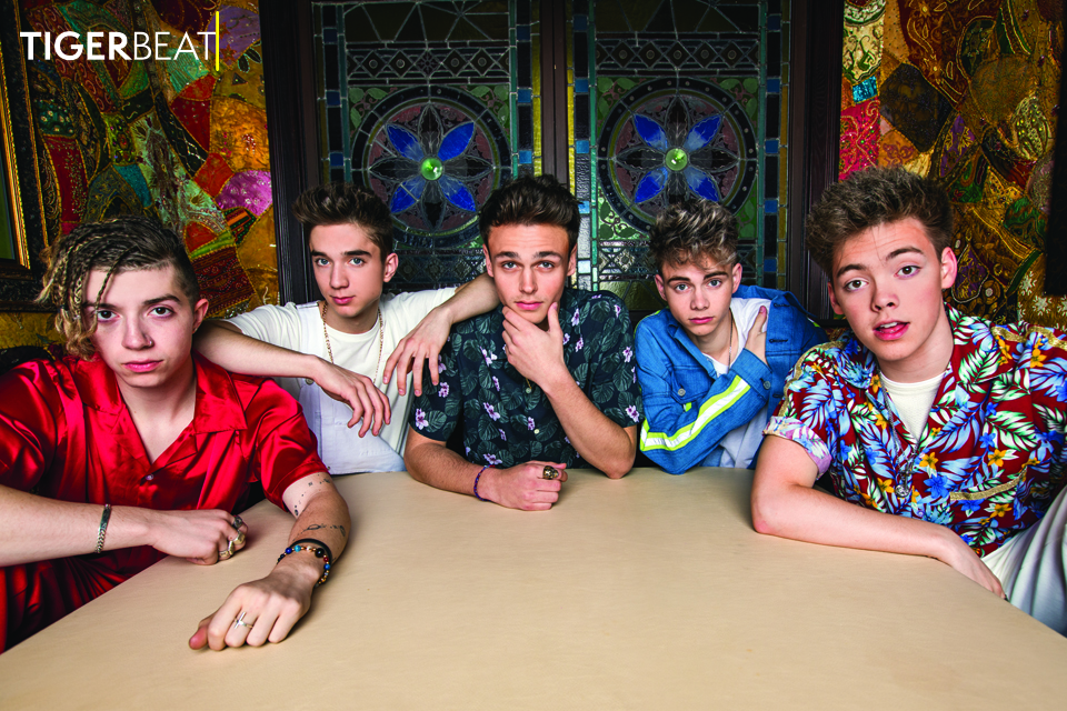 Watch: Behind the Scenes of Why Don't We's TigerBeat Cover Photoshoot