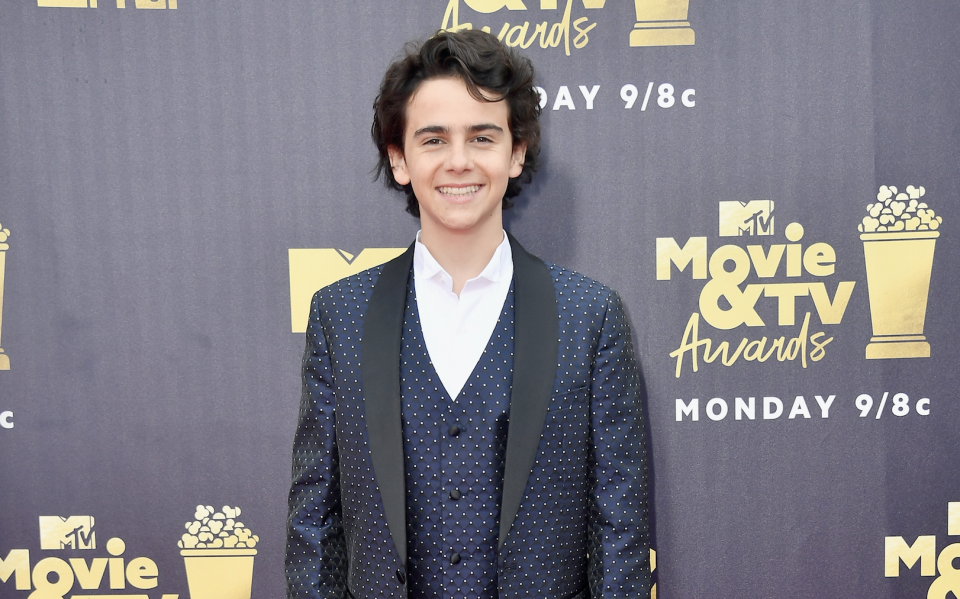 """Jack Dylan Grazer Shares New Pic From Upcoming Movie 'Shazam!"""" Starring Asher Angel"""