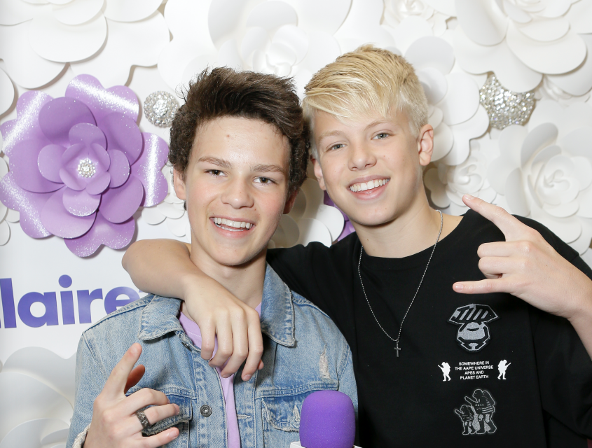 Hayden Summerall and More Wish Carson Lueders a Happy Birthday