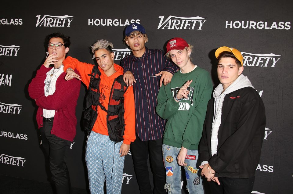 PRETTYMUCH and More Step Out For Variety's Power of Young Hollywood Event