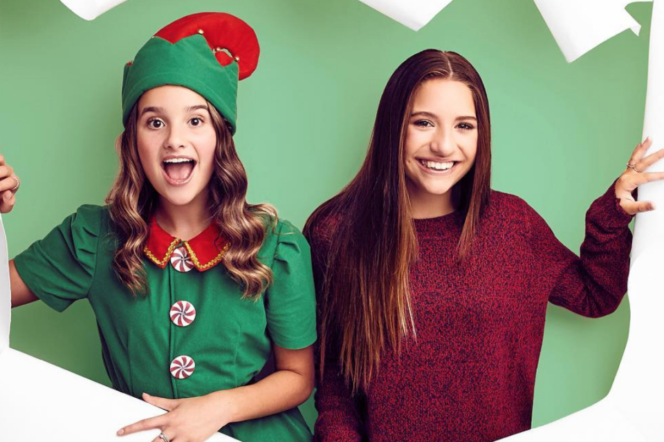 Get A Behind-the-Scenes Look At 'Holiday Spectacular' Starring Annie LeBlanc and Mackenzie Ziegler