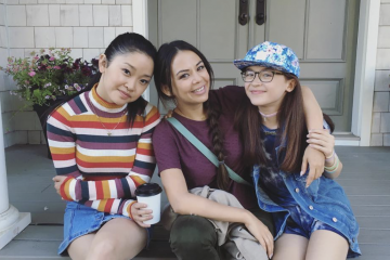 Anna Cathcart, Lana Condor & Janel Parrish Finish Filming the Final 'TATBILB' Flick