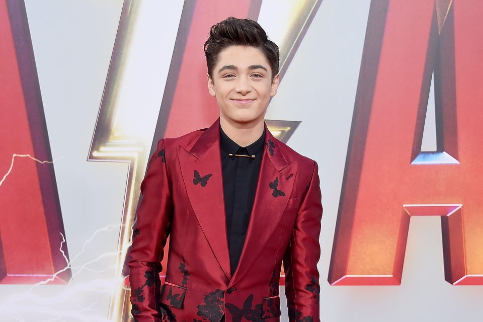 WATCH: Asher Angel Dishes on Doing His Own Stunts in Superhero Movie 'Shazam!'