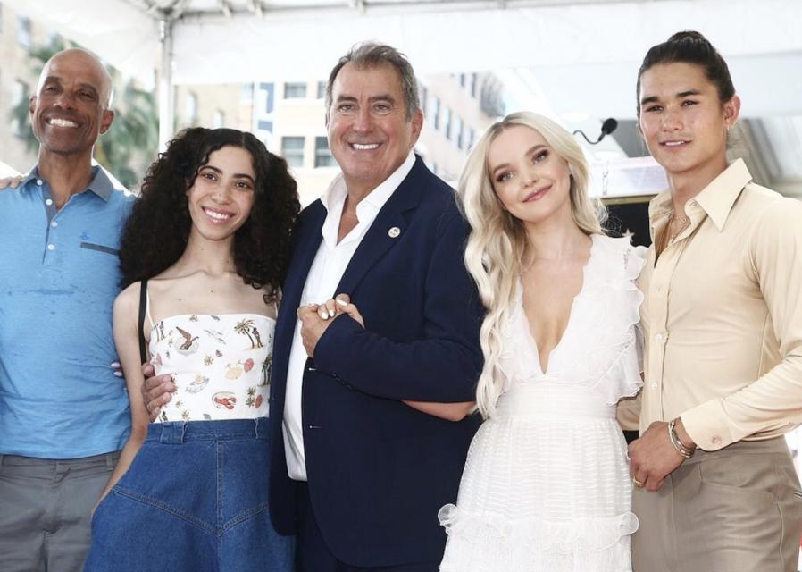 'Descendants' Director Kenny Ortega Accepts Hollywood Walk of Fame Star Beside Cameron Boyce's Family
