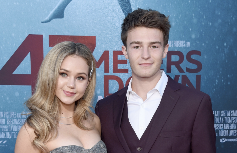 Brec Bassinger Celebrates Her First Big Screen Film Feature with Boyfriend Dylan Summerall