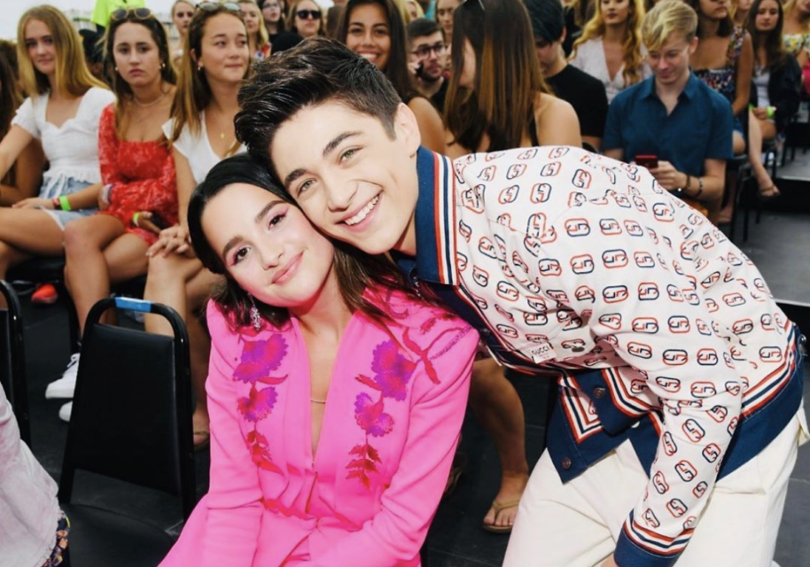 Asher Angel Teases an Upcoming Secret Project with Annie LeBlanc