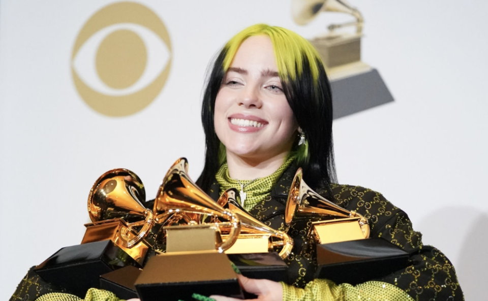 Billie Eilish Makes Grammys History as Youngest Artist to Win All 4 Main Categories