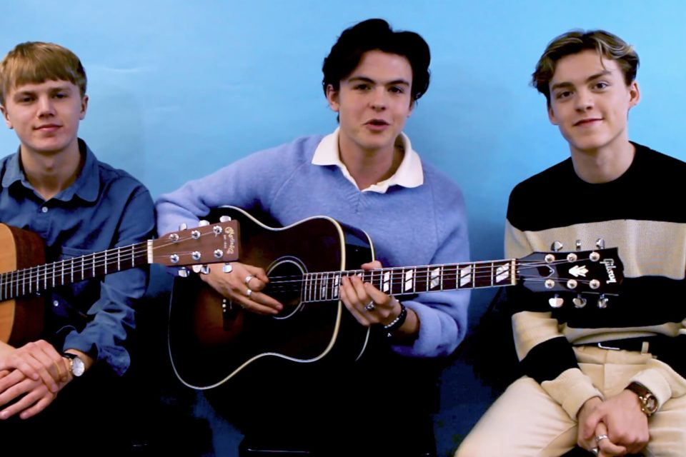 Watch: New Hope Club Performs Acoustic Version of 'Let Me Down Slow'