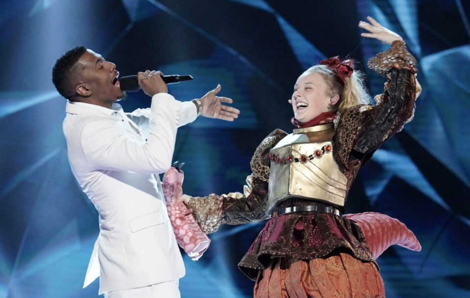 JoJo Siwa Was Convinced She Was Competing Against This Hollywood Star on 'The Masked Singer'