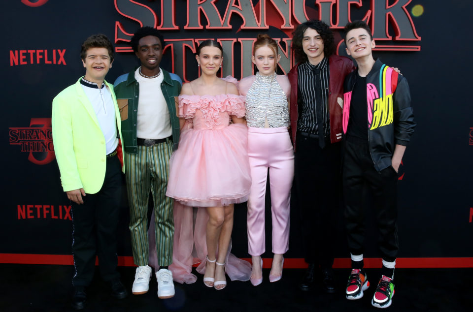 Pics: The Cast Of 'Stranger Things' Celebrates Their 4 Year Anniversary Together
