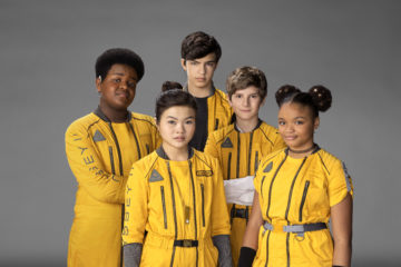 The Cast of 'The Astronauts' Spills Behind-the-Scenes Secrets During This Game of Most Likely To…
