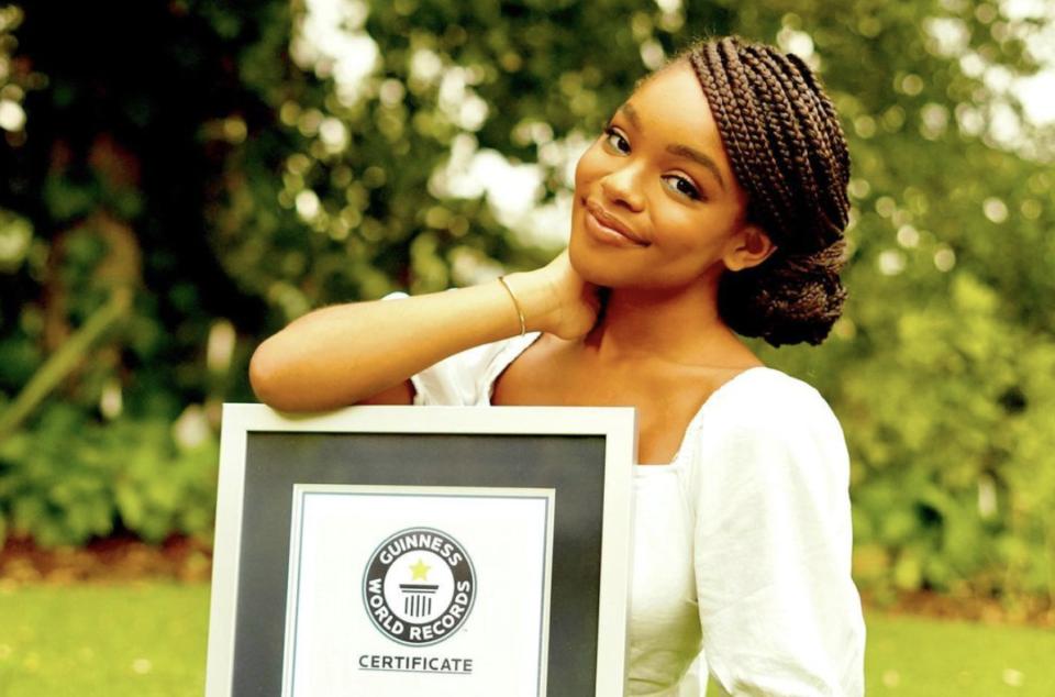 Marsai Martin Celebrates Making It Into The 2021 Guinness World Records Book