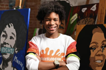 Teen Painter Tyler Gordon Celebrates The Presidential Inauguration By Creating The Most Moving Piece Of Artwork