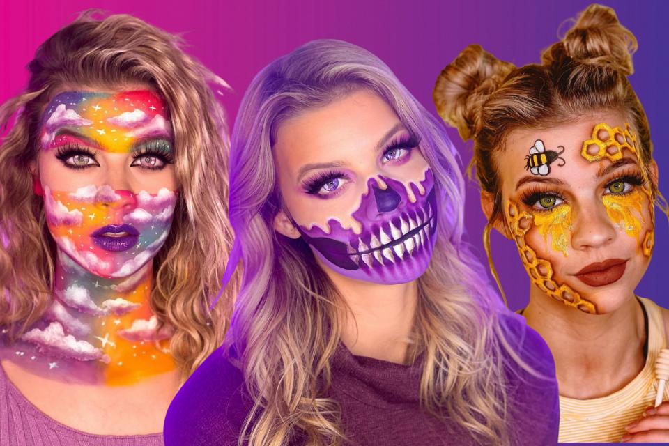 Pics: Sydney Morgan's 14 Most Creative Makeup Looks