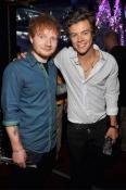 Ed Sheeran and Harry Styles