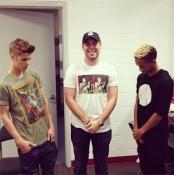 Justin Bieber and Jaden Smith