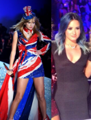 Taylor and Demi