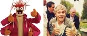 Niall Horan and Pepe the King Prawn