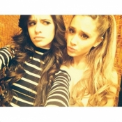 Camilla Cabello and Ariana Grande