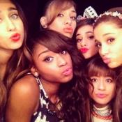 Fifth Harmony and Ariana Grande