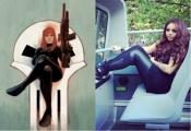 Jesy Nelson as Black Widow