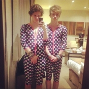 Bradley Simpson and Connor Ball